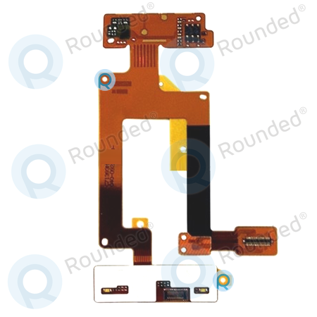 Nokia C2-02, C2-03, C2-06 main flex cable, flex cable ribbon spare ...