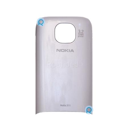 Nokia 311 Asha battery cover, battery door white spare ...