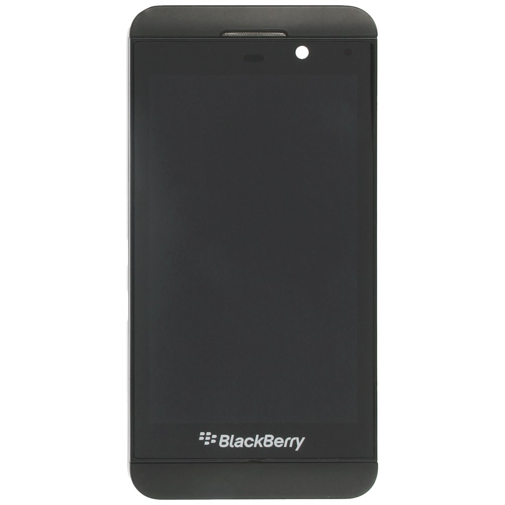 Blackberry Z10 Display module frontcover+lcd+digitizer 4G black
