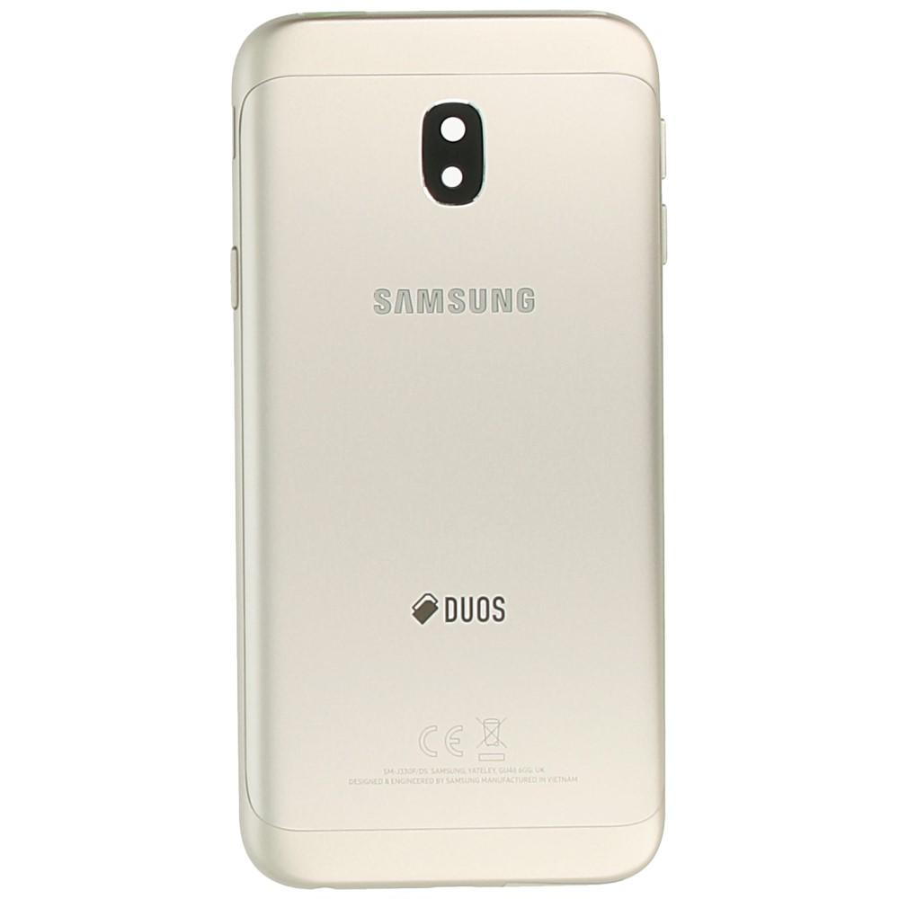 841acb5e2 Samsung Galaxy J3 2017 (SM-J330F) Battery cover gold GH82-14891C GH82 ...