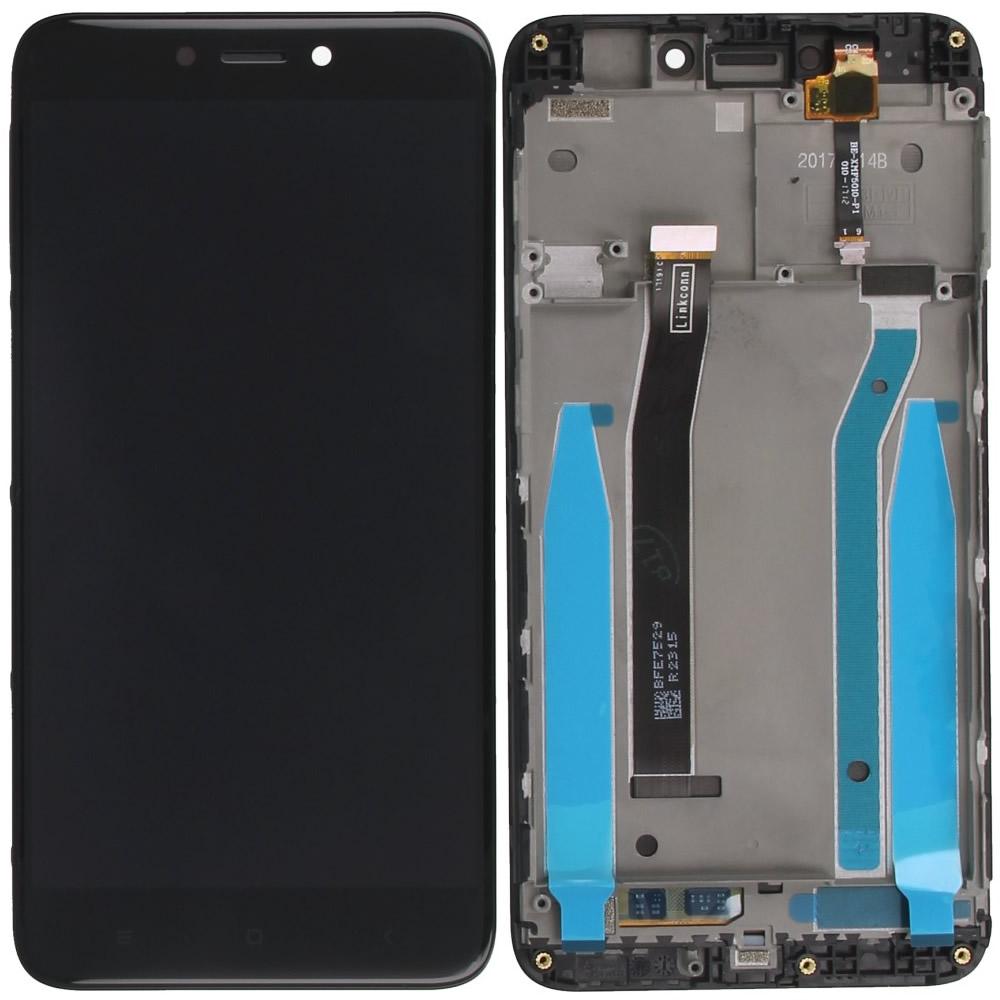Xiaomi Redmi 4, Redmi 4X Display module frontcover+lcd+digitizer black