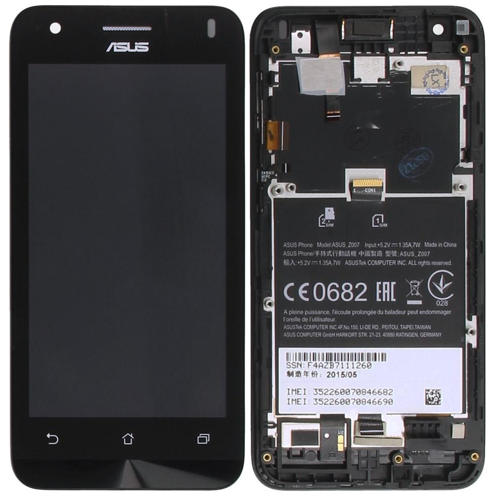 Asus Zenfone C ZC451CG Display Module Frontcover Lcd Digitizer
