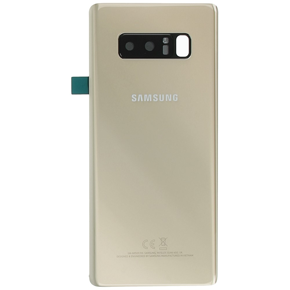 sale retailer 24d96 ea601 Samsung Galaxy Note 8 (SM-N950F) Battery cover gold GH82-14979D