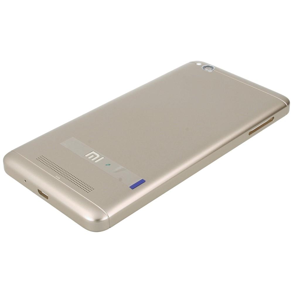 reputable site cff47 5362e Xiaomi Redmi 4A Battery cover gold