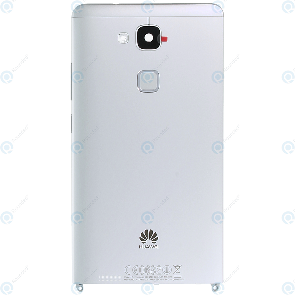 Huawei Ascend Mate 7 (JAZZ-L09) Battery cover silver 02350BXV