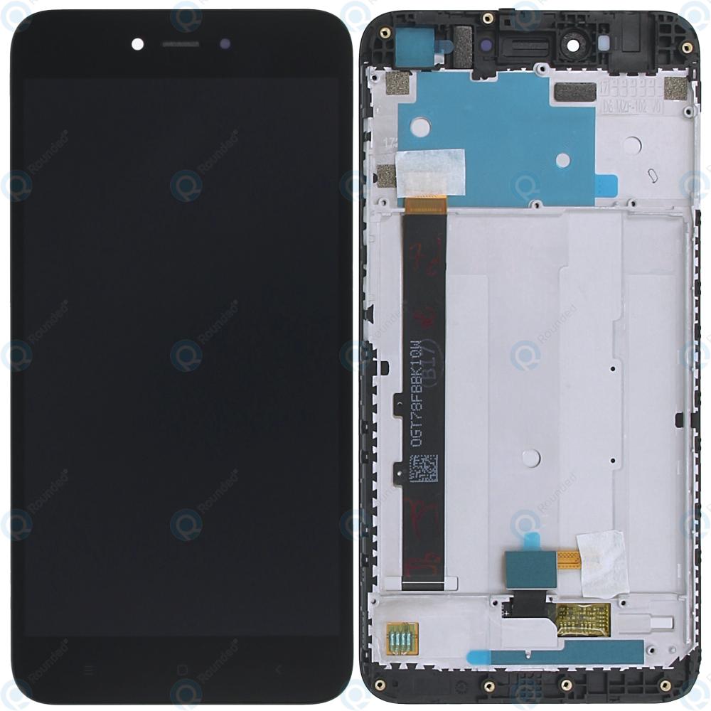 Xiaomi Redmi Note 5A Display module frontcover+lcd+digitizer black