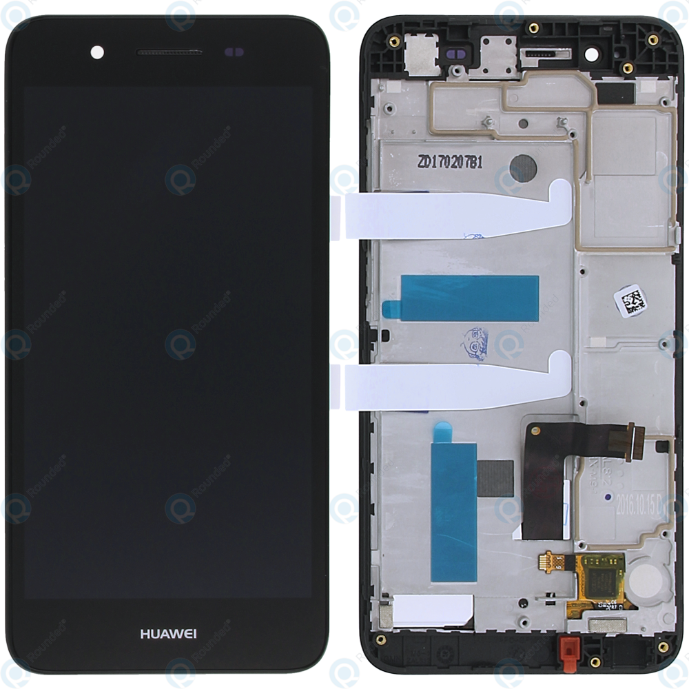 outlet store e6127 363c8 Huawei GR3 (TAG-L21) Display module frontcover+lcd+digitizer grey