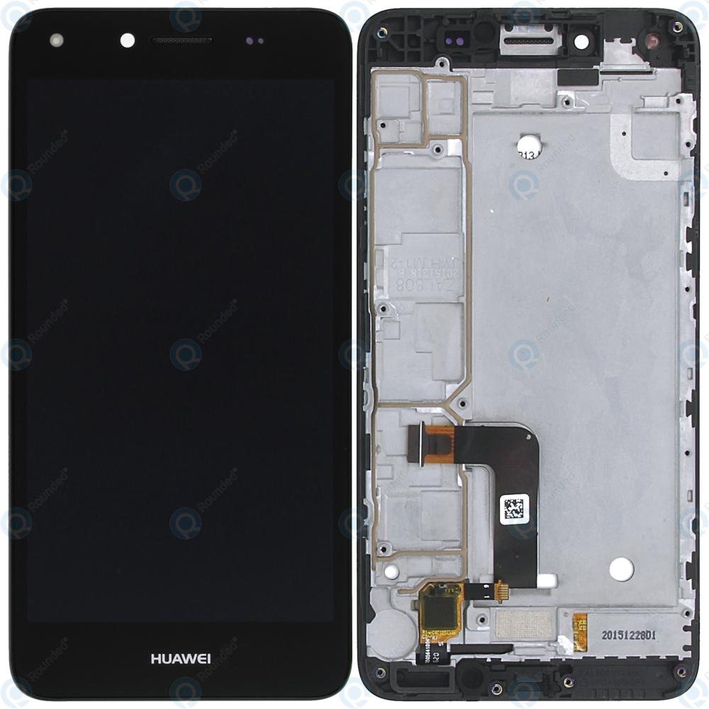 Huawei Y5 II 2016 4G (CUN-L21) Display module frontcover+lcd+digitizer black