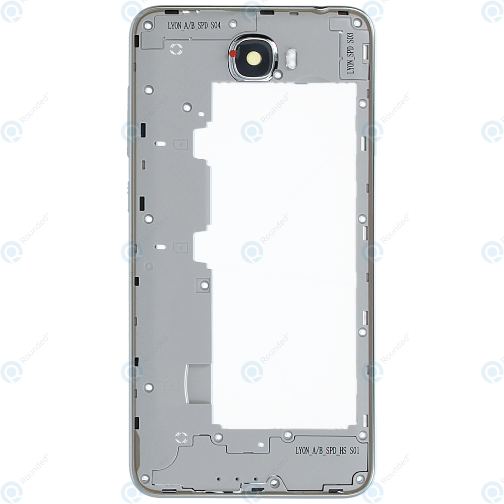 Huawei Y6 II Compact (LYO-L21) Middle cover white 97070PEF