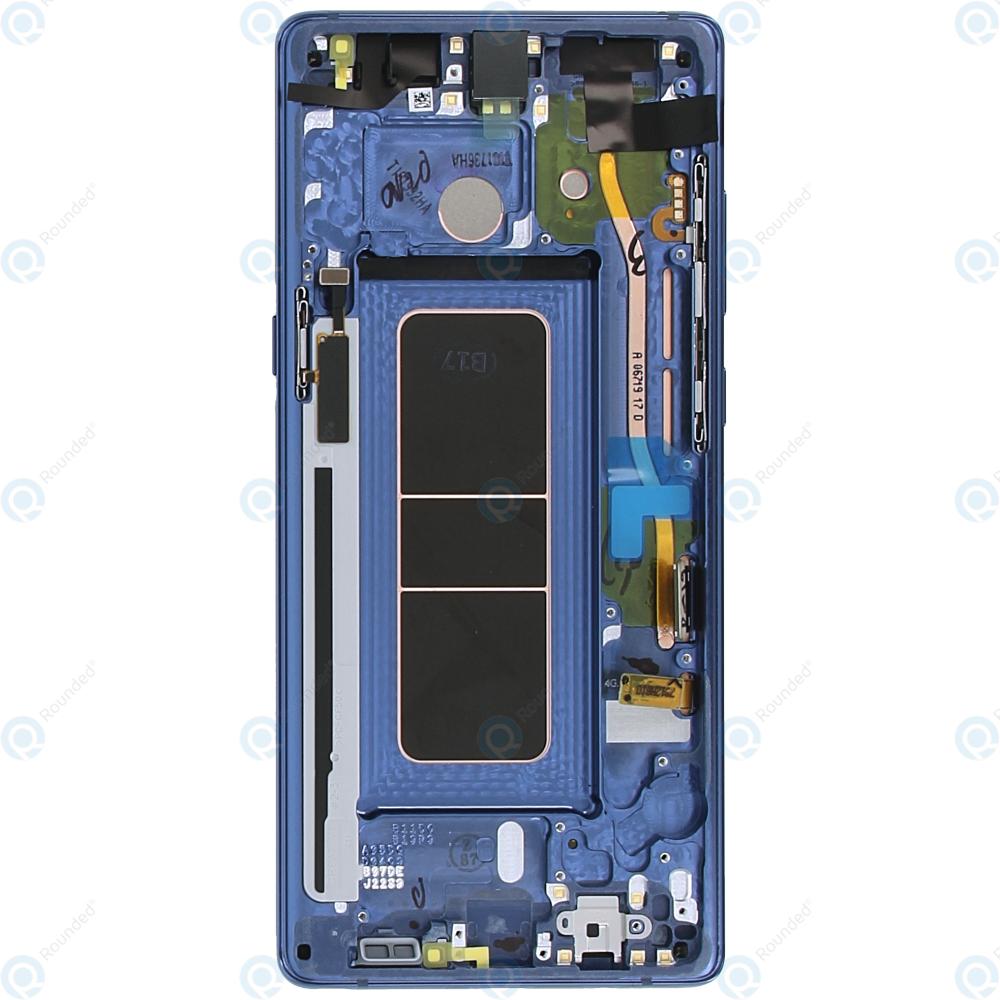 Unit Blue sm-n950f Display Complete Galaxy Gh97-21065b Samsung Note 8