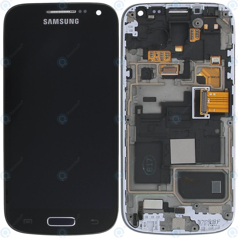 Samsung Galaxy S4 Mini (I9195) Display unit complete Black Edition  (GH97-15631A)