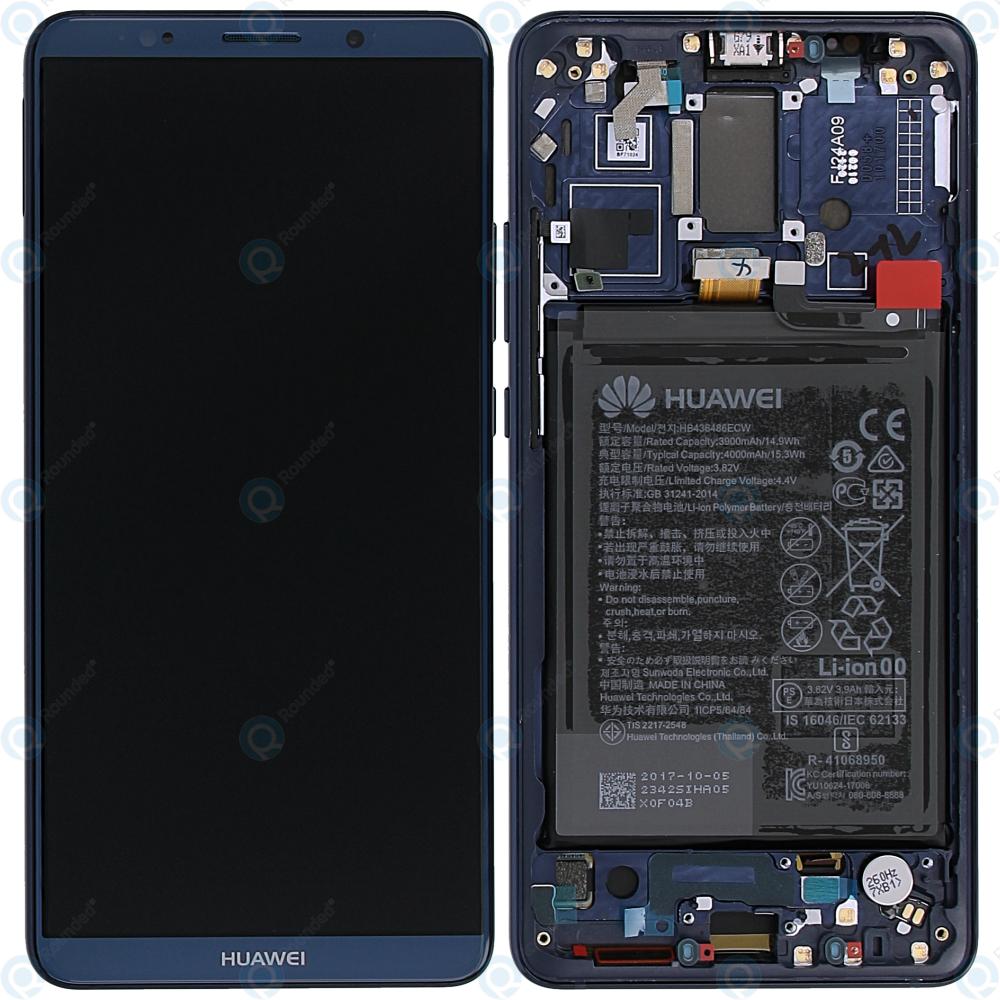 88890918185 Huawei Mate 10 Pro (BLA-L09, BLA-L29) Display module frontcover+ ...