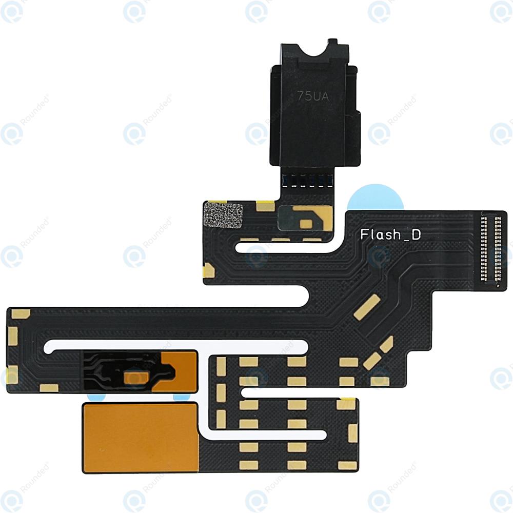 Nokia 8 (TA-1012 TA-1004) Audio connector incl  Flashlight module  MENB114006A