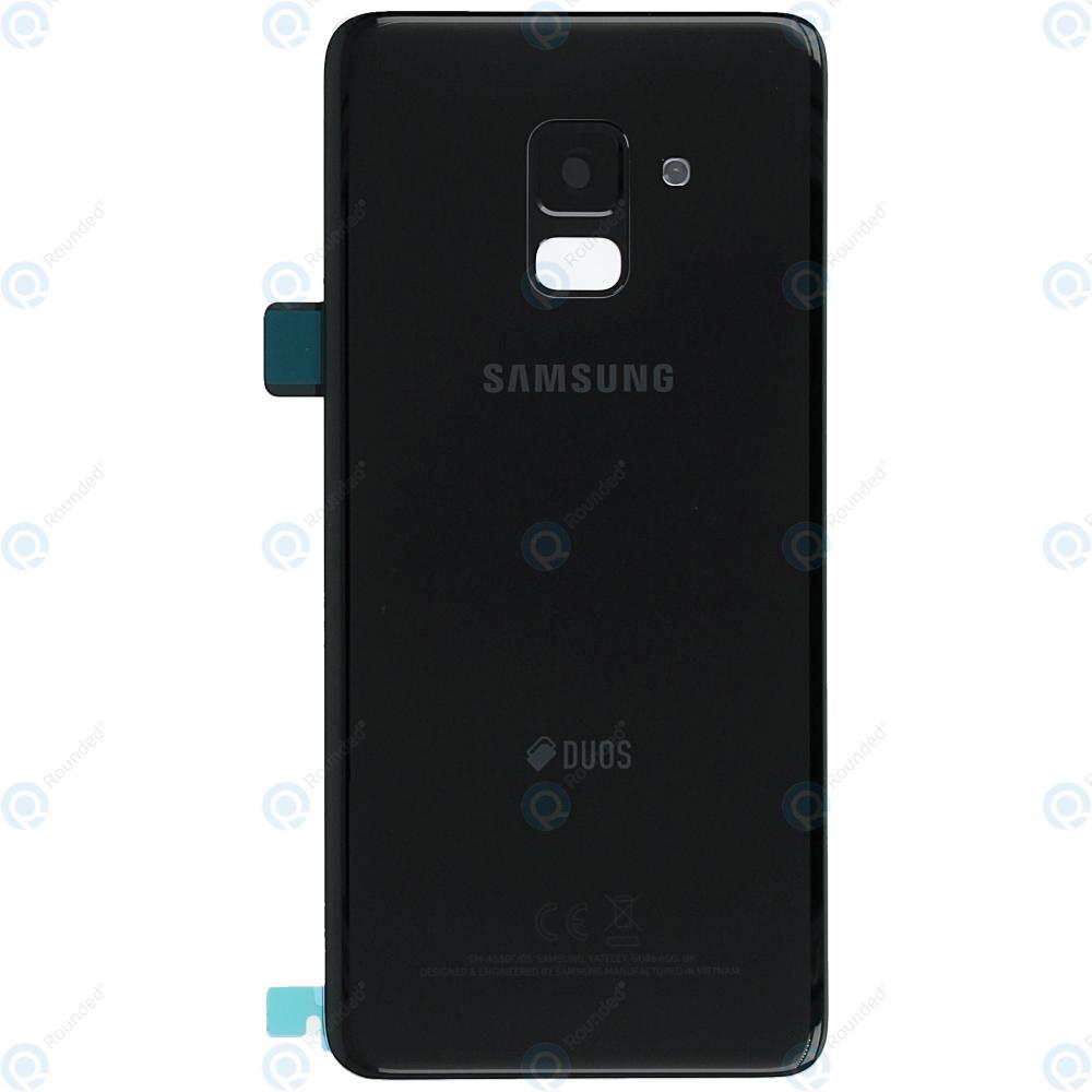 wholesale dealer c62a4 996a3 Samsung Galaxy A8 2018 Duos (SM-A530F/FD) Battery cover black GH82-15557A