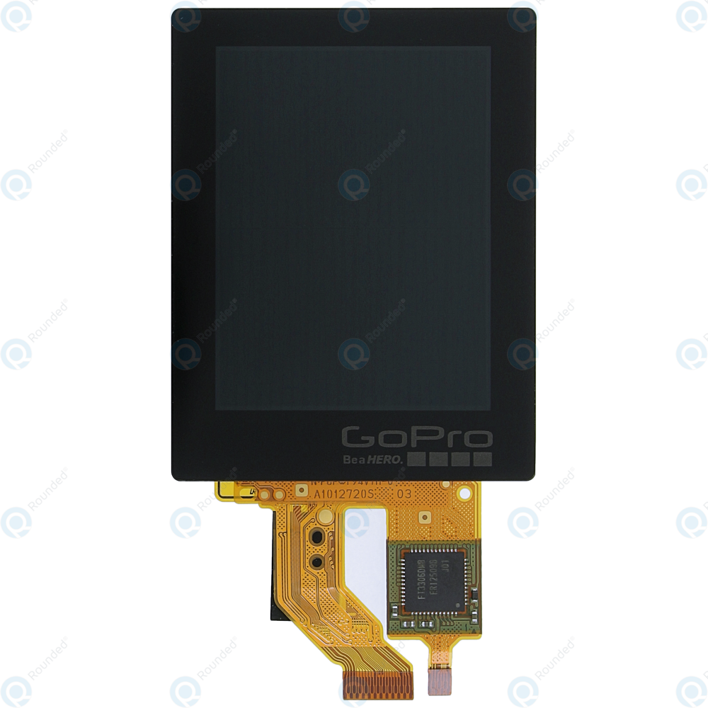 gopro hero 4 silver rear display touch screen module