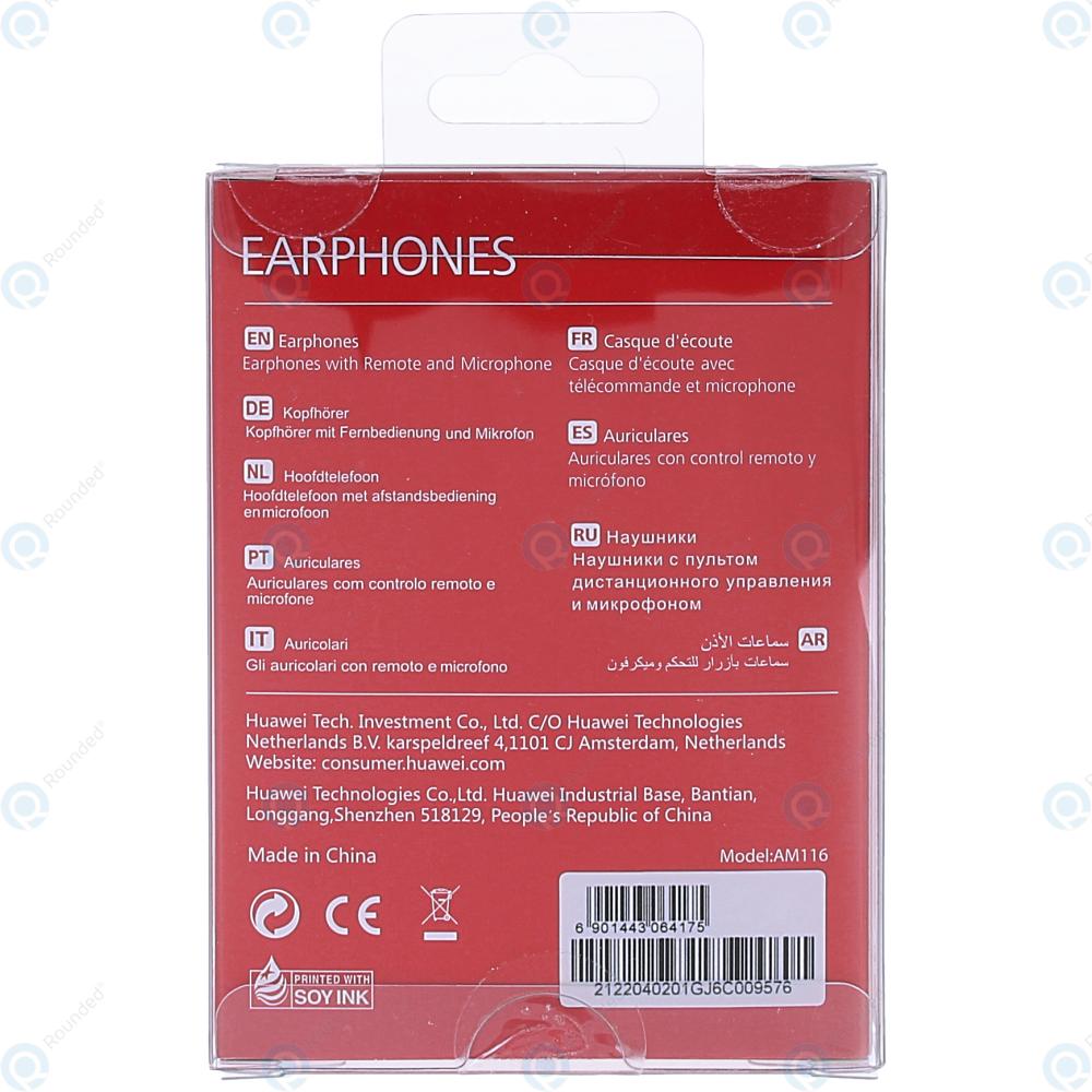 Huawei Honor Stereo in-ear headset white (EU Blister) AM-116