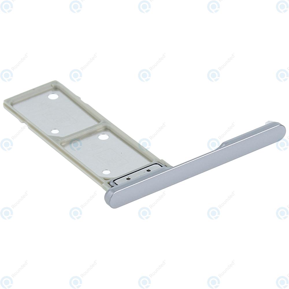Sony Xperia XA2 Ultra Dual (H4213) Sim tray silver 306J24Q0400
