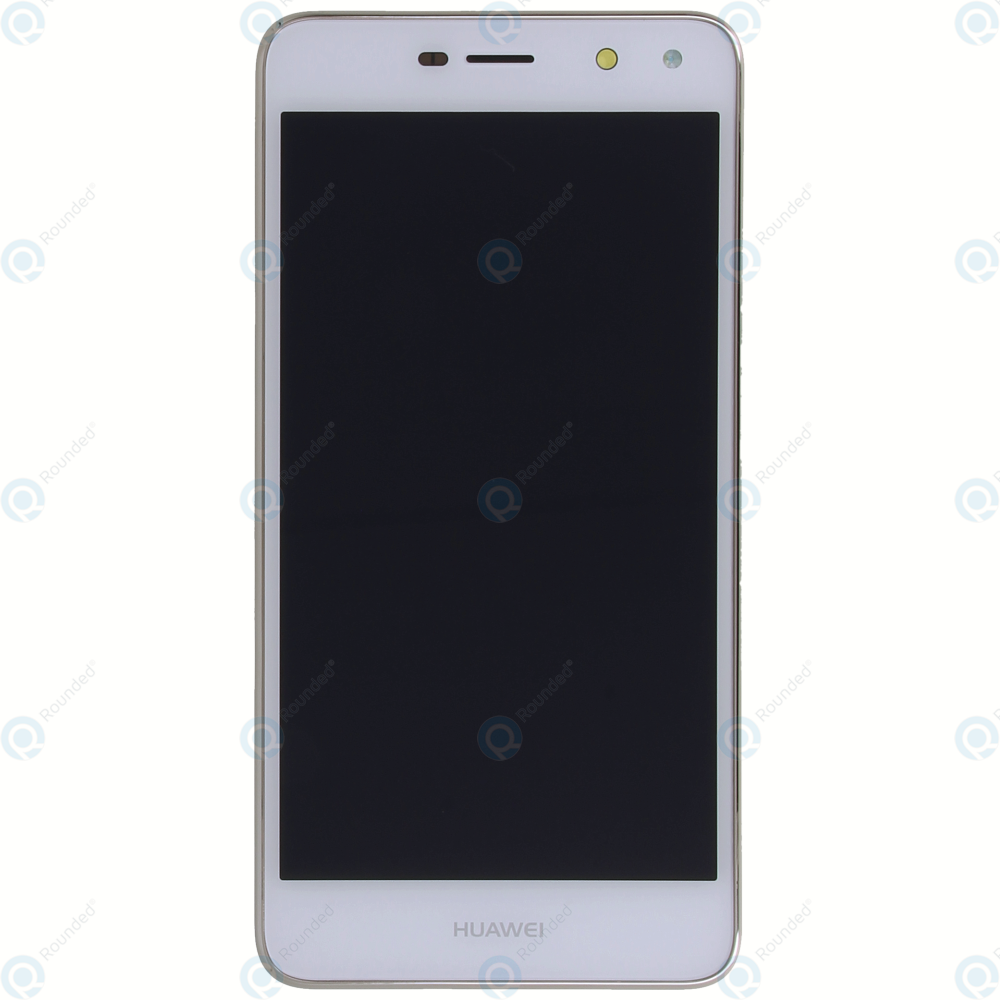 Huawei Y5 2017 (MYA-L22) Display module frontcover+lcd+digitizer+battery  white 02351KUJ