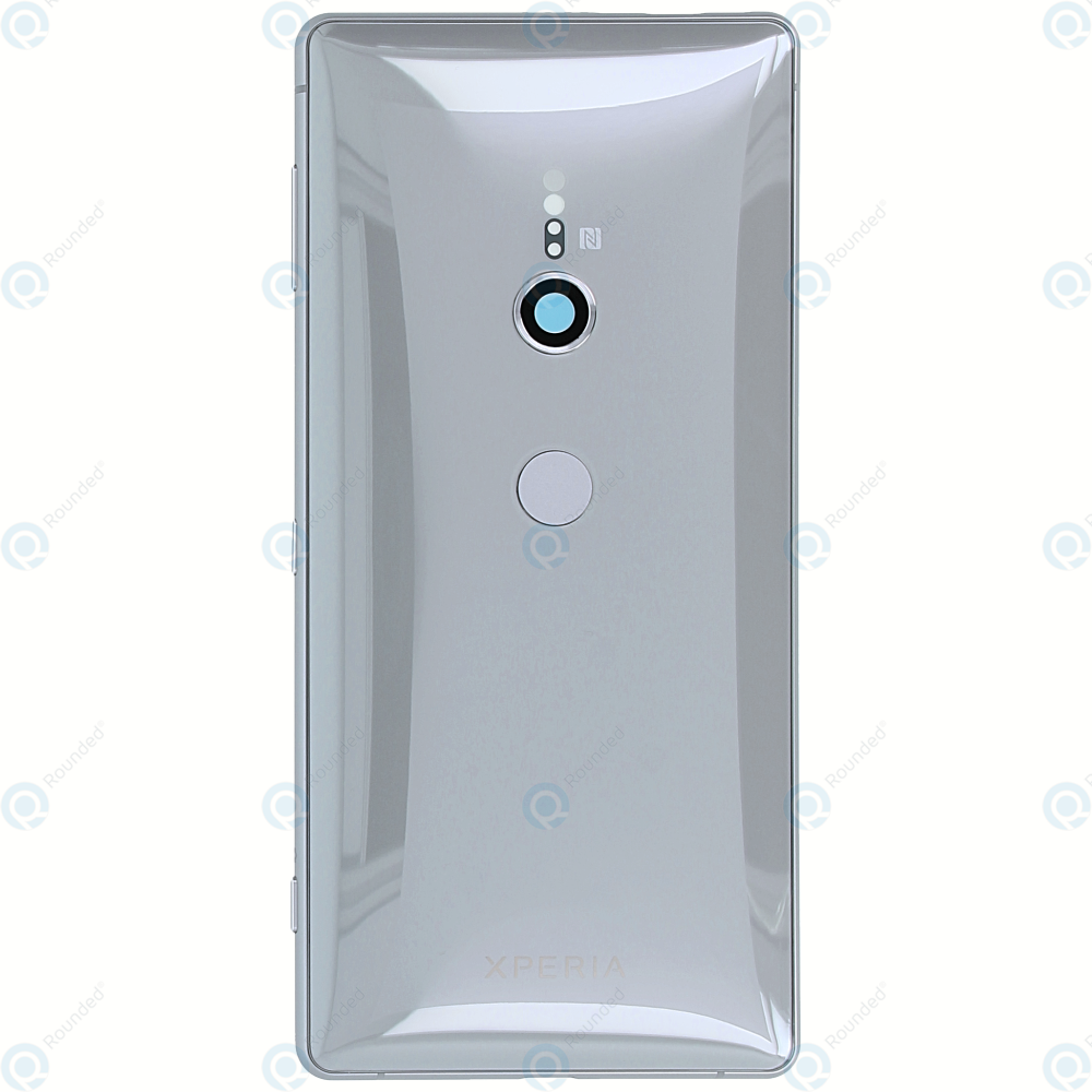 uk availability 669f7 b1a14 Sony Xperia XZ2 (H8216, H8276, H8266, H8296) Battery cover silver 1313-1207