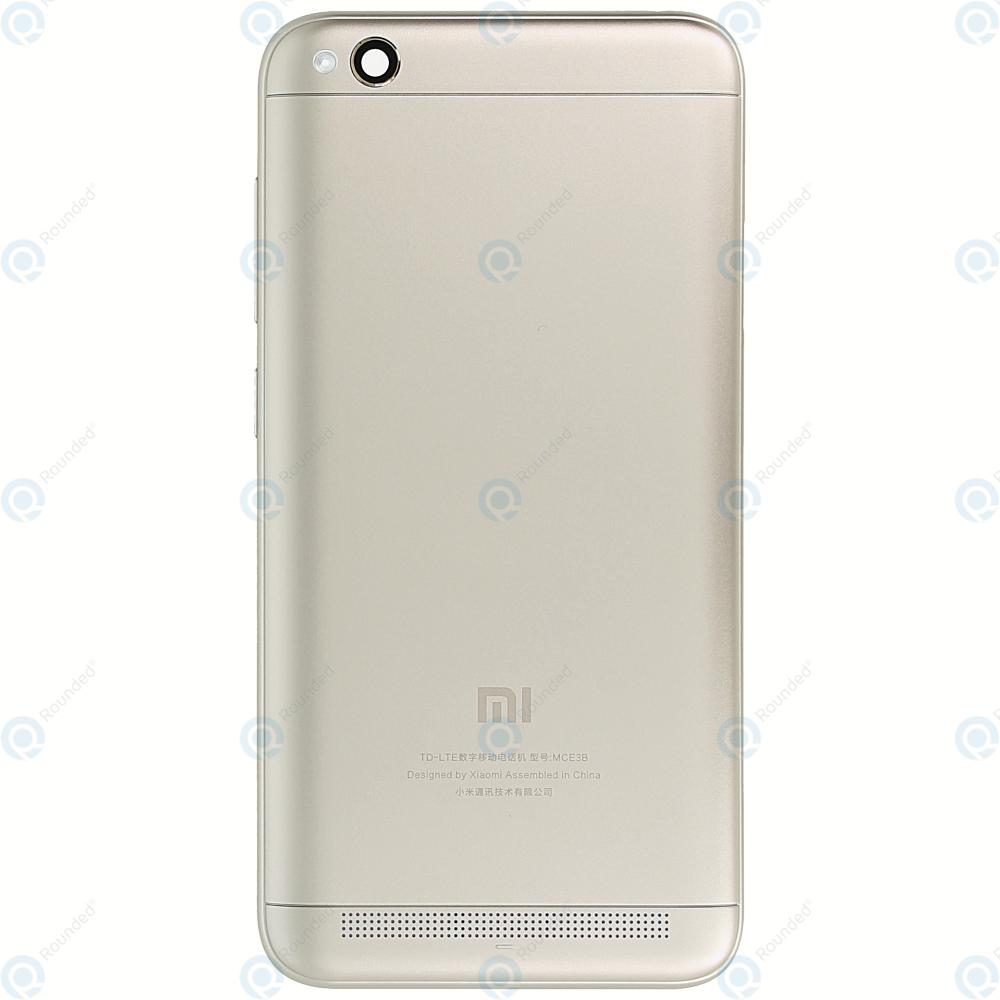 big sale 00f9c 3fa5e Xiaomi Redmi 5A Battery cover gold
