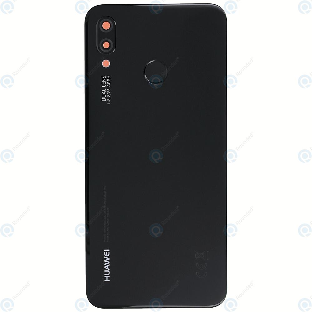 more photos b207e 306c4 Huawei P20 Lite (ANE-L21) Battery cover midnight black 02351VPT