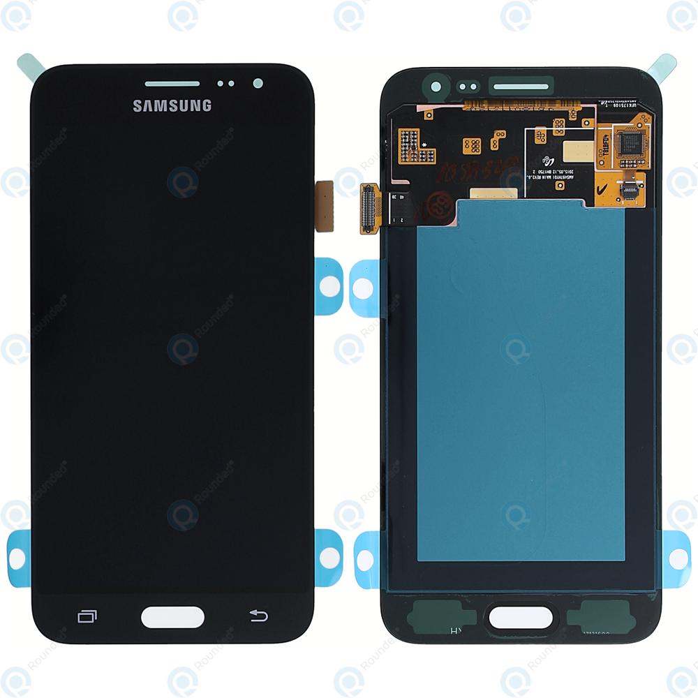 samsung galaxy j3 2016 sm j320f display module lcd digitizer black gh97 18414c. Black Bedroom Furniture Sets. Home Design Ideas