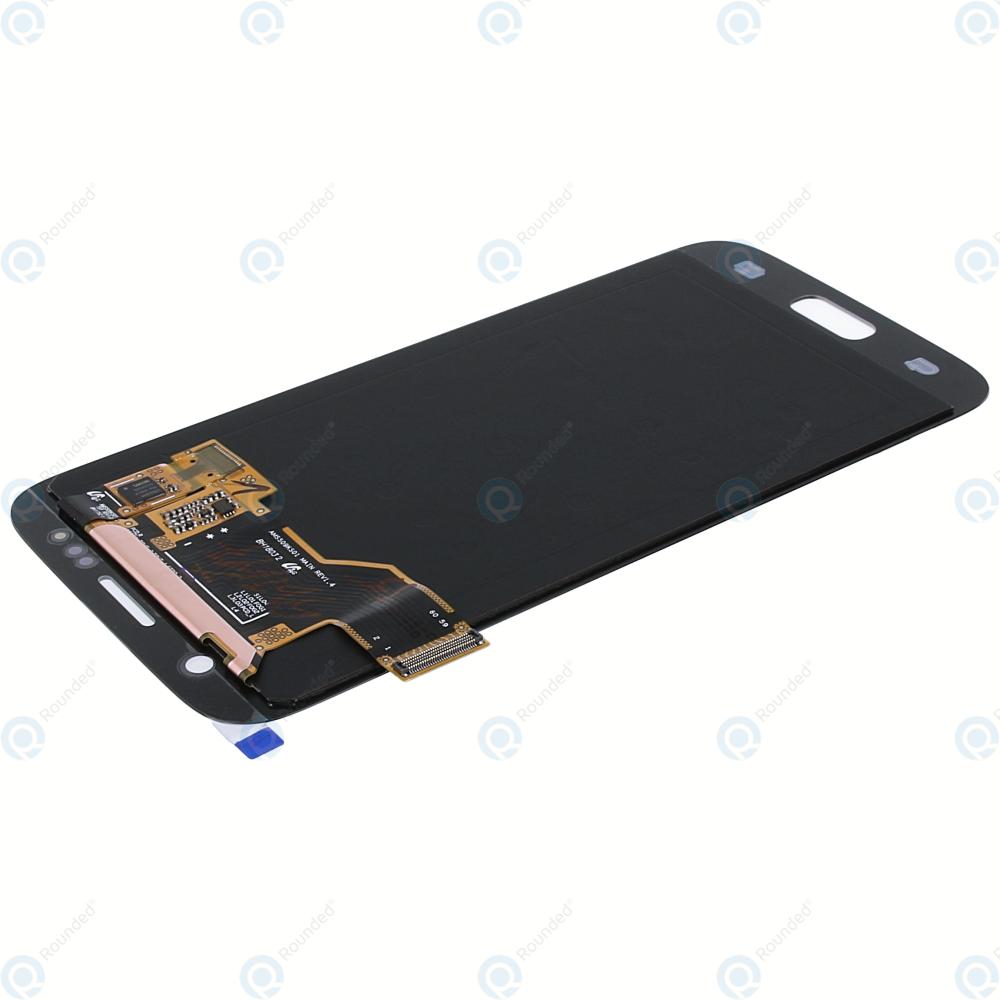 Samsung Galaxy S7 (SM-G930F) Display module LCD + Digitizer gold GH97-18523C