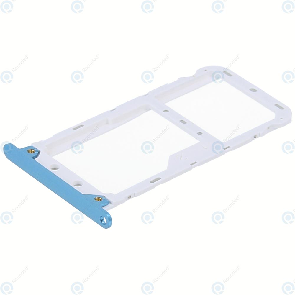 Xiaomi Redmi 5 Plus Sim tray + MicroSD tray blue 3400251000A4