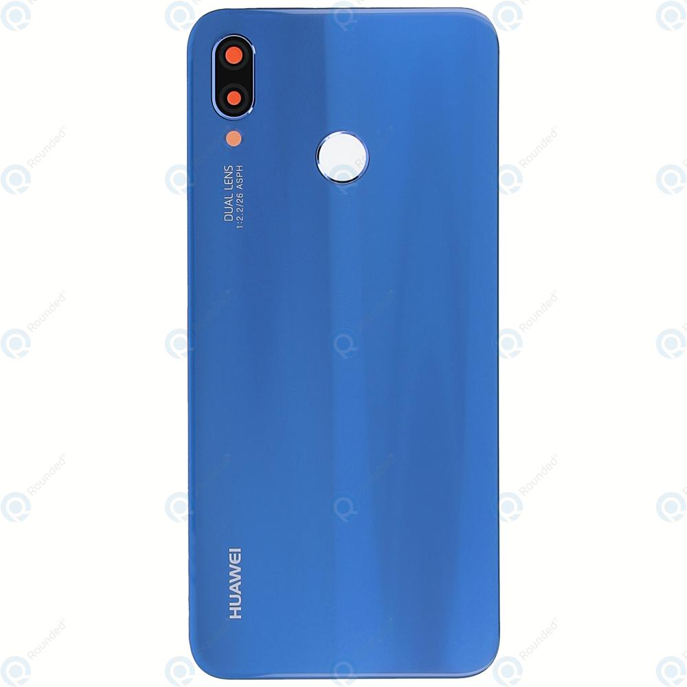 Huawei P20 Lite ANE L20 Battery cover klein blue