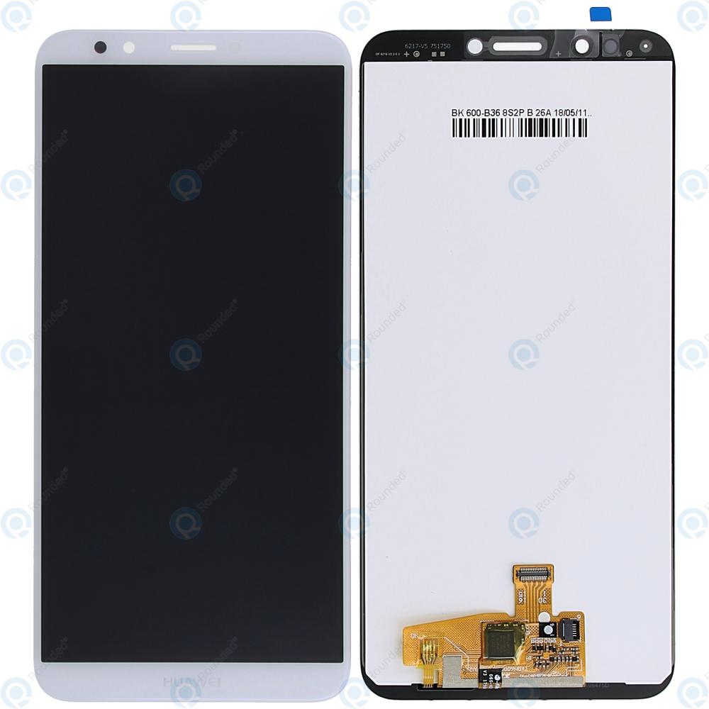 Huawei Y7 Prime 2018 Display module LCD + Digitizer white