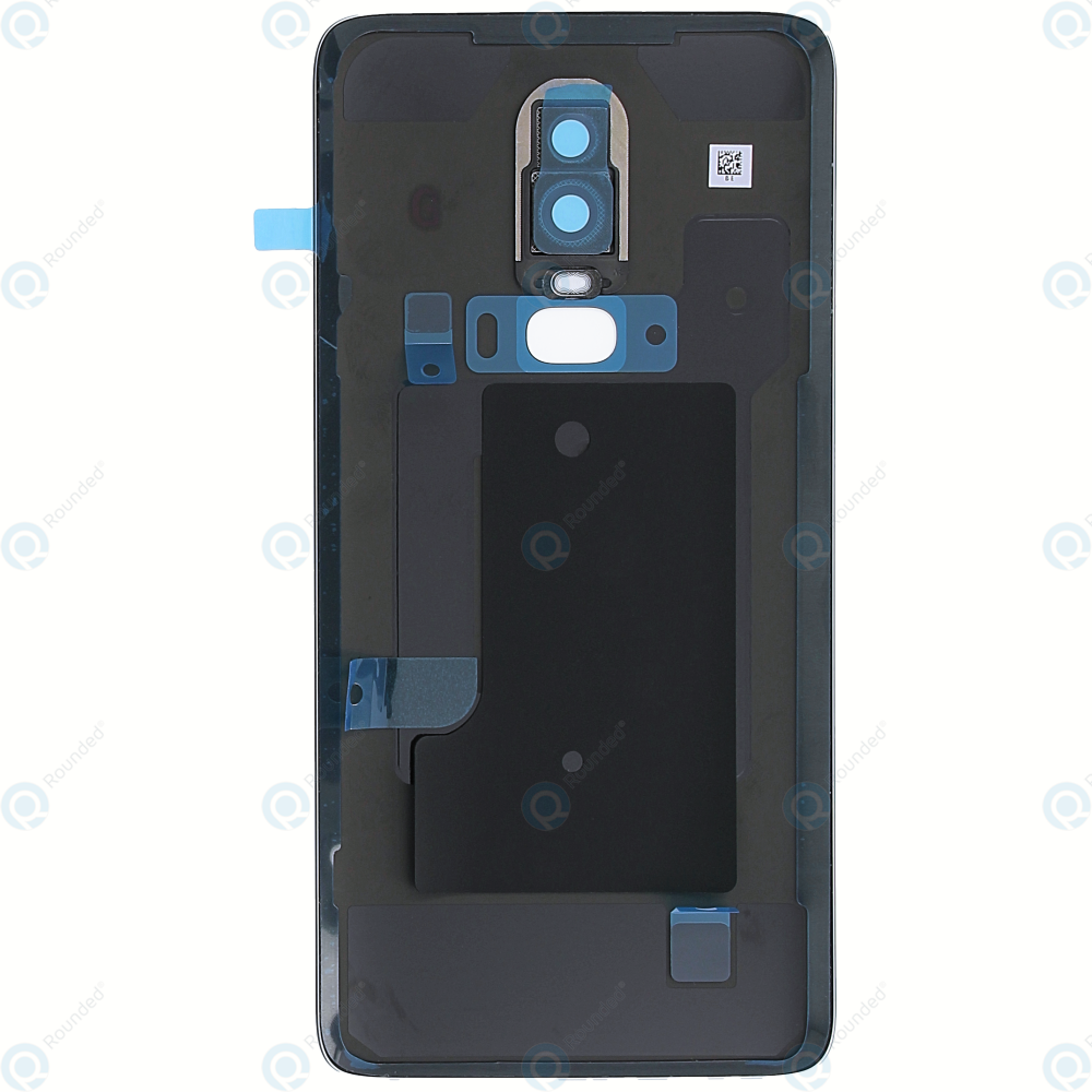 the latest 4568b 4f1ee OnePlus 6 (A6000, A6003) Battery cover midnight black