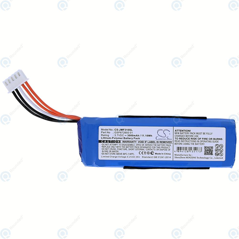 JBL Flip 4 Battery 3000mAh GSP872693 01