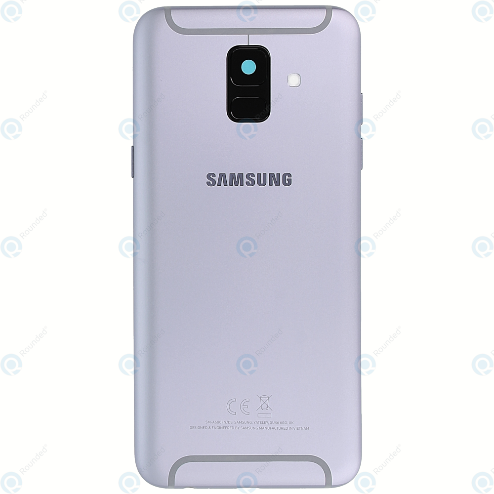 newest collection 64238 aecbf Samsung Galaxy A6 2018 (SM-A600FN) Battery cover lavender GH82-16421B