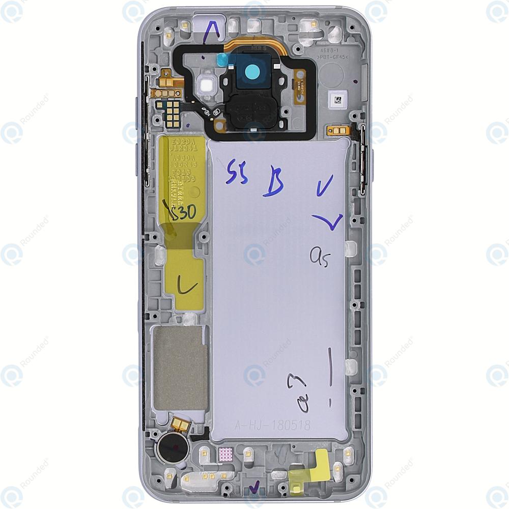 Samsung Galaxy A6 2018 (SM-A600FN) Battery cover lavender GH82-16421B