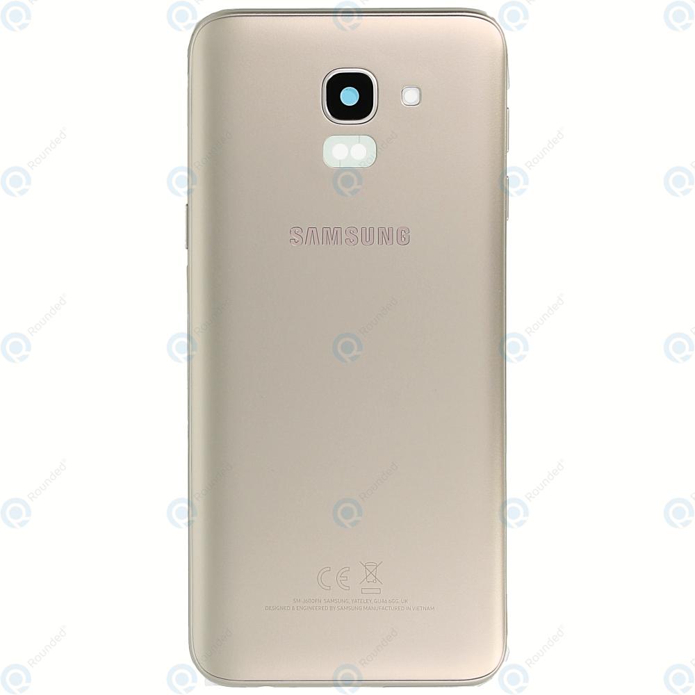 big sale 8daad 064ed Samsung Galaxy J6 2018 (SM-J600F) Battery cover gold GH82-16866D