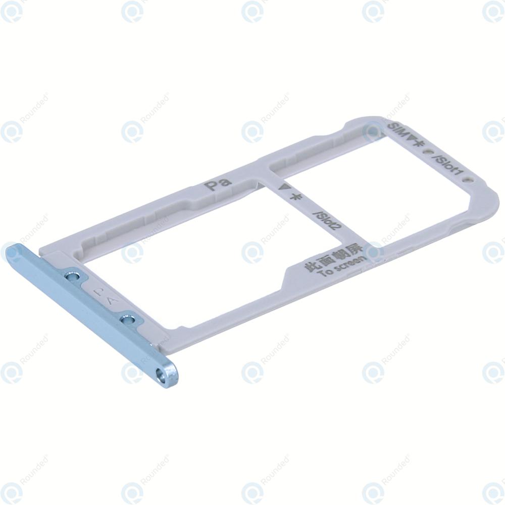 Huawei Nova 3 (PAR-LX1, PAR-LX9) Sim tray + MicroSD tray airy blue 51661JSD