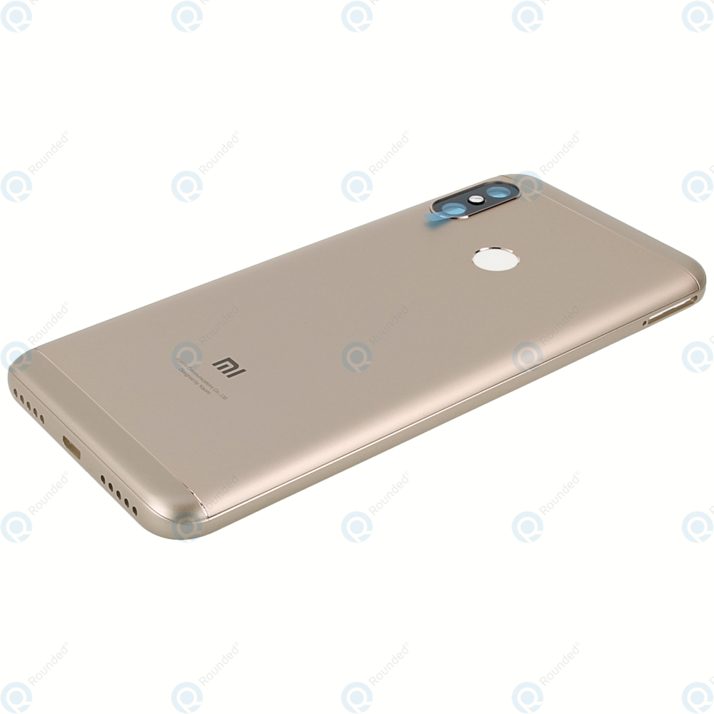 Xiaomi Mi A2 Lite, Redmi 6 Pro Battery cover gold