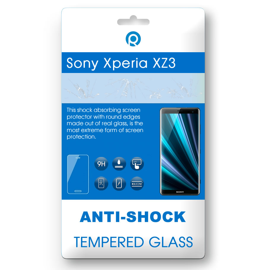 Sony Xperia XZ3 (H8416, H9436, H9493) Tempered glass 3D black