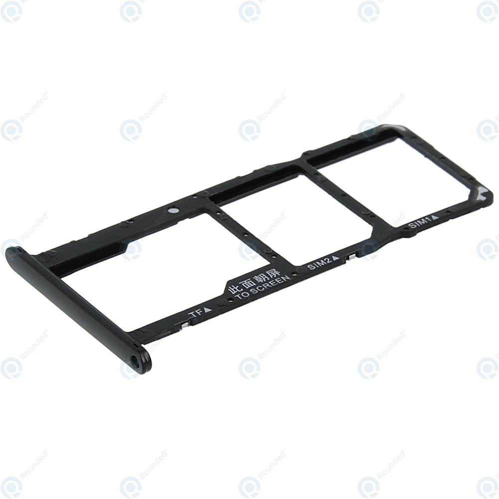 Huawei Y5 2018 (DRA-L22) Sim tray + MicroSD tray black