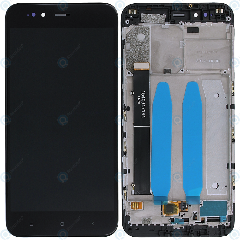 Xiaomi Mi A1 Display module frontcover+lcd+digitizer black