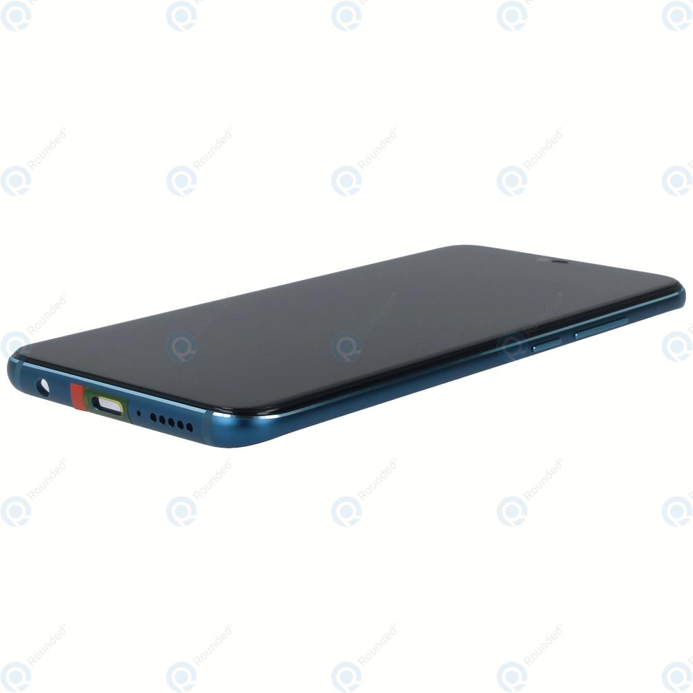 Huawei Honor 10 (COL-L29) Display module frontcover+lcd+digitizer+battery  phantom green 02351YDB
