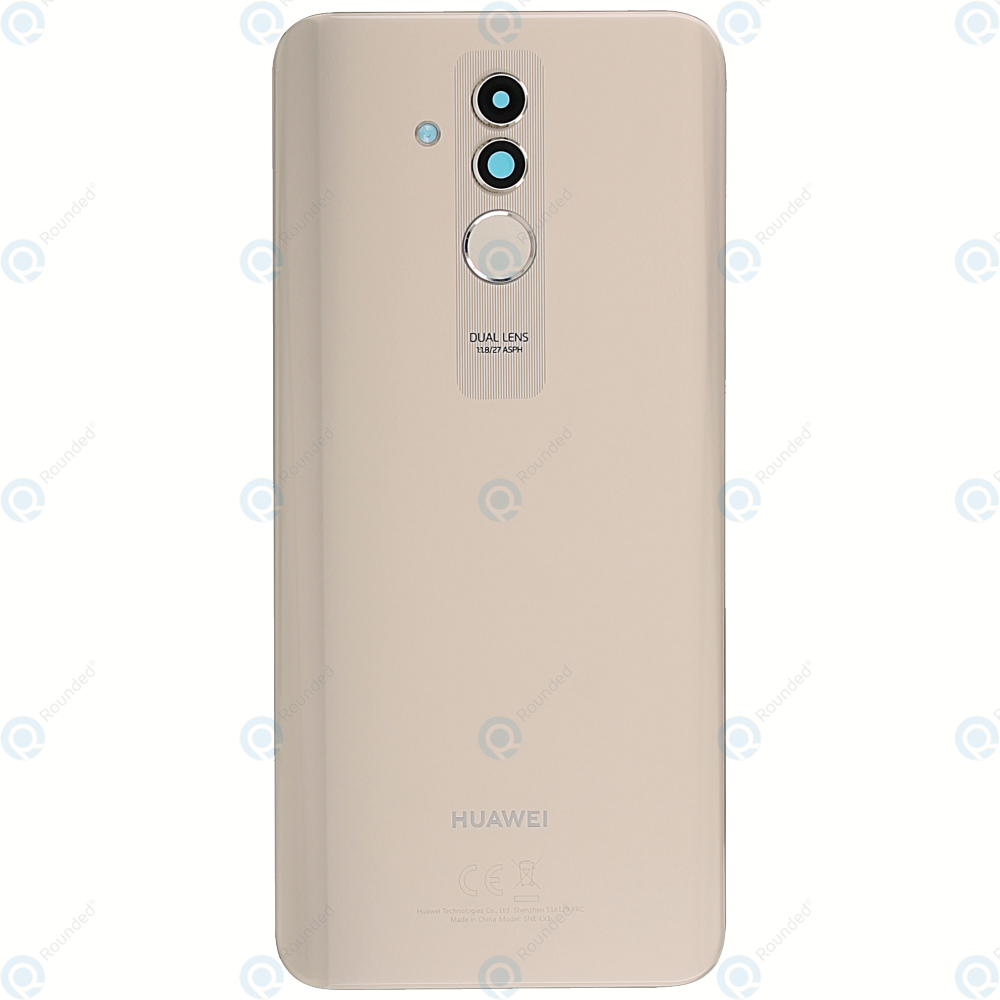 Huawei Mate 20 Lite (SNE-LX1 SNE-L21) Battery cover platinum gold 02352DKS