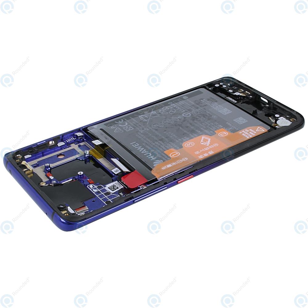 Huawei Mate 20 Pro (LYA-L09, LYA-L29, LYA-L0C) Display module  frontcover+lcd+digitizer+battery twilight 02352GGC