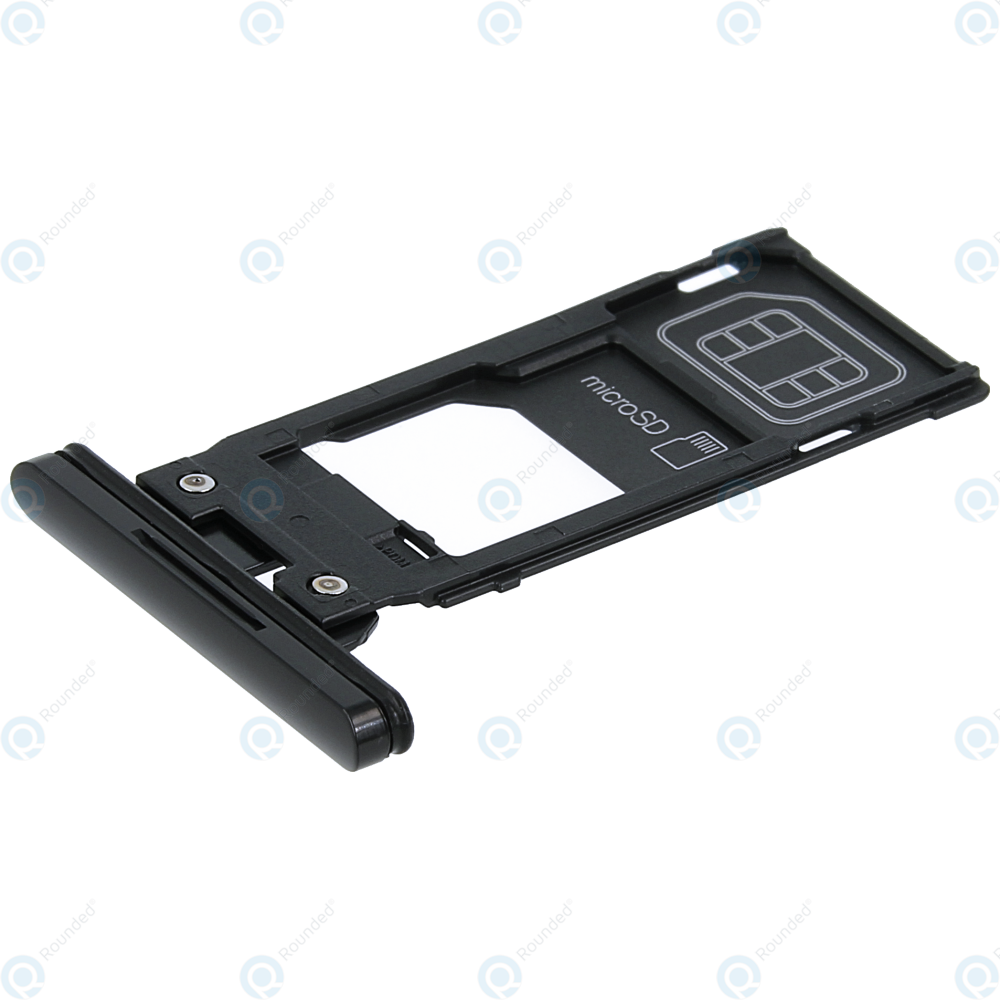 Sony Xperia Xz3 H8416 Sim Tray Microsd Tray Black 1313 0582