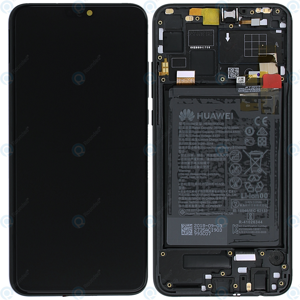 Huawei Honor 8X Display module frontcover+lcd+digitizer+