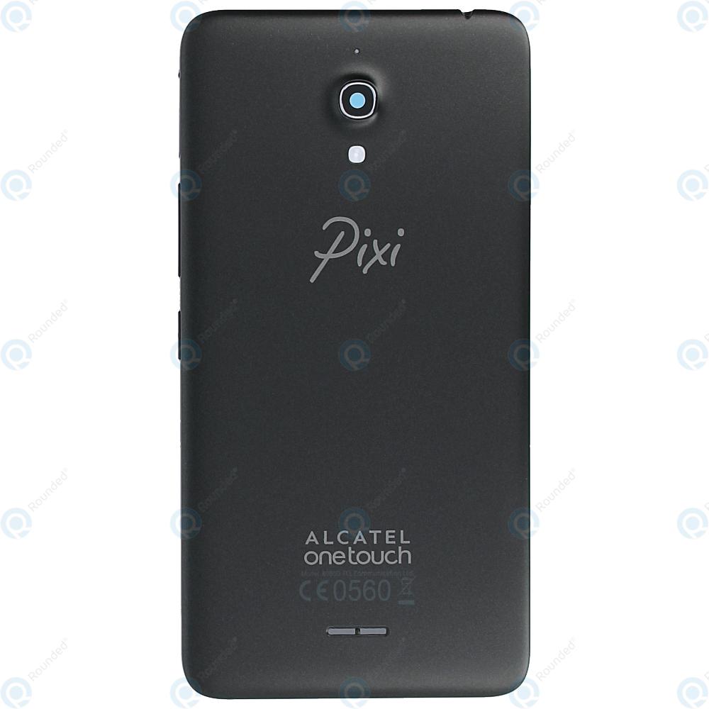 newest bee48 1133b Alcatel Pixi 4 6 (OT-8050D, OT-9001D) Battery cover black