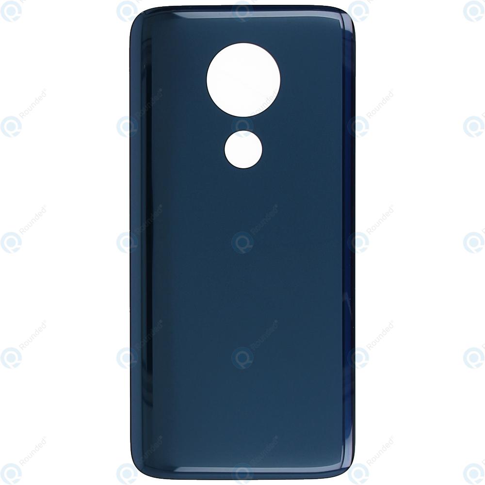 save off 2bc2c 6e5a4 Motorola Moto G7 Power (XT1955) Battery cover marine blue