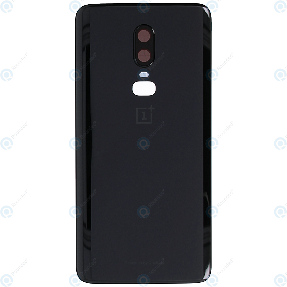 free shipping 2ec40 0afcd OnePlus 6 (A6000, A6003) Battery cover mirror black 1071100107