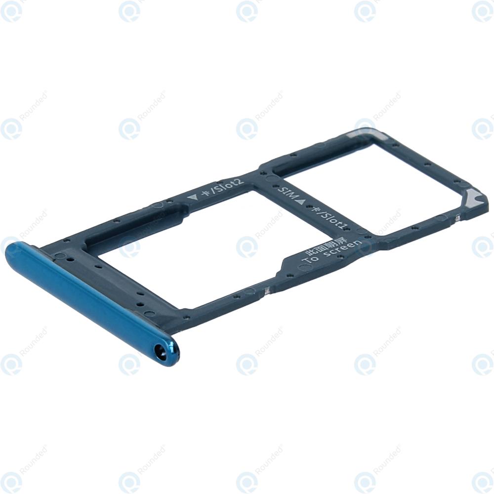 Huawei P smart 2019 (POT-L21 POT-LX1) Sim tray + MicroSD tray aurora blue  51661LDD