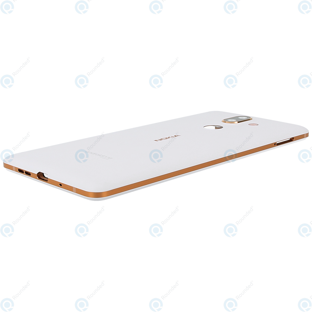Nokia 7 Plus (TA-1046, TA-1055) Battery cover white copper